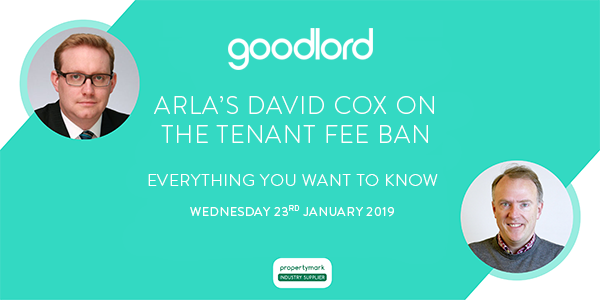 ARLA's David Cox on the Tenant Fee Ban