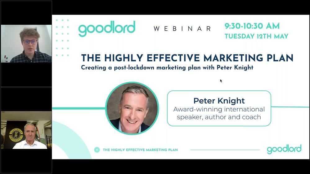 The Highly Effective Marketing plan with Peter Knight