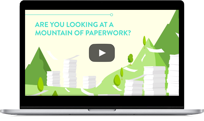Are you looking at a mountain of paperwork?