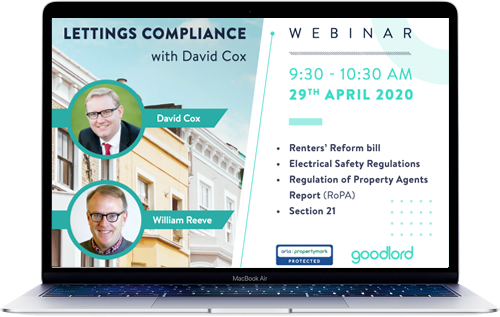 Lettings compliance with David Cox