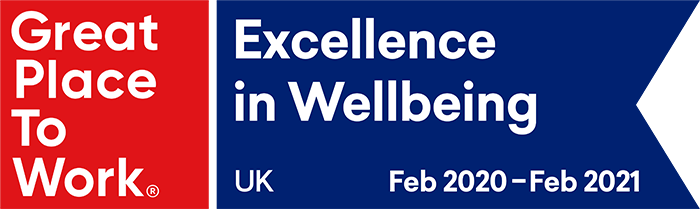 Great Place to Work - Excellence in Wellbeing